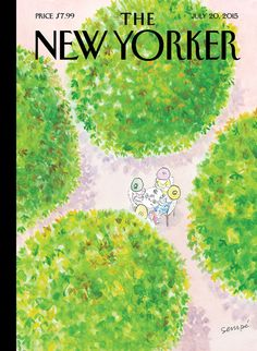 This is Jean-Jacques Sempé's hundred-and-ninth New Yorker cover. See more of his summer images from across the decades: http://nyr.kr/1HqvIfi