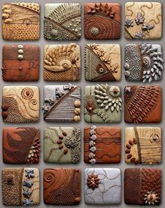 Foto Ceramic Tile Art, Clay Tiles, Ceramic Clay, Ceramics Tile, Clay Clay, Ceramic Pendant, Ceramic Jewelry, Ceramic Beads, Clay Art Projects