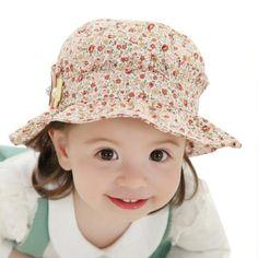 >> Click to Buy << Newest Summer Toddler Hats Kids Baby Girls Flower Ruffle Sun Bucket Caps Headwear #Affiliate