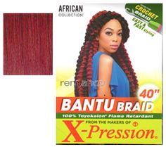 African Collection Bantu Braid  - Color BG - Synthetic Braiding