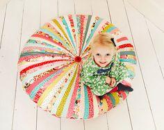 Large Pinwheel Floor Cushion #DIY
