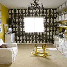 Czarno-żółty pokój dziecięcy - co o nim sądzicie?