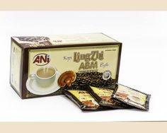 káva latte 3v1 2% extrakt z ganodermy