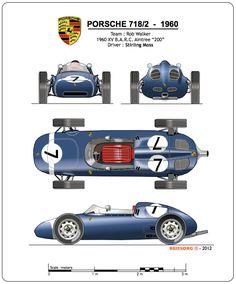 1960 PORSCHE 718/2 - Formula 2