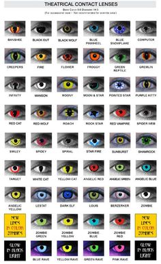 Contact lenses have been used in movies for many years to create monsters or spooky characters. Musicians like Marilyn Manson and Rob Zombie use them too to Halloween Eye Contacts, Halloween Skull Makeup, Scary Halloween, Halloween Tips, White Contact Lenses, Feeling Alone Quotes, Best Colored Contacts, Monster Eyes, Fire Flower