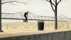 GIF: Biggest Ollie ever