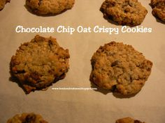Chocolate Chip Oat Crispy Cookies | Bonham Business