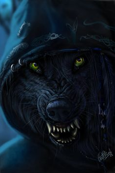 Werewolf. Although I have spent most of my working life in education teaching with a strong emphasis on history, my other love is art, unfortunately I posses no aptitude for art fortunately these artists do! - look, enjoy and learn! Linda ( Educational director of http://www.siteseen.info ).