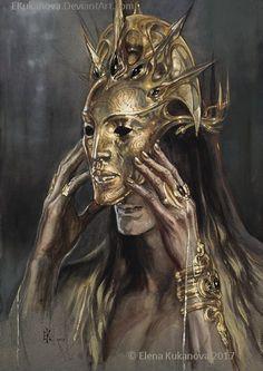 ELDAMAR — Sauron in Numenor (Melkor`s temple) by Елена...