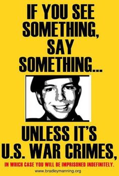 Bradley Manning is a United States Army soldier who was arrested in May 2010 in Iraq on suspicion of having passed restricted material to the website Wikileaks.