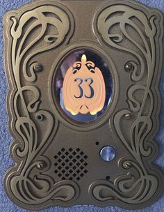 """For my """"she space"""". Custom door chime melody too."""