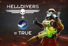 Helldivers Loves Steam