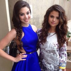@Kira Kosarin: Just met my childhood idol, @Selena Gomez. This lovely lady is one of the reasons I started acting.  so sweet
