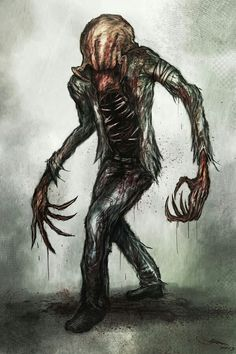 Headcrab Zombie by *Eemeling on deviantART Lower Arm Tattoos, Small Forearm Tattoos, Small Tattoos For Guys, Phoenix Back Tattoo, Small Eagle Tattoo, Optical Illusion Tattoo, Small Dragon Tattoos, Monster Concept Art, Monster Art