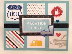 The Inky Scrapper: June Stamp of the Month Blog Hop: The Long Way Home