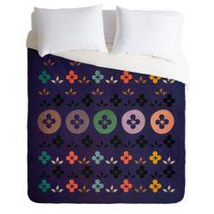 Viviana Gonzalez Floral Vintage Duvet Cover | DENY Designs Home Accessories