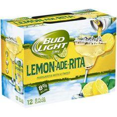 Charming Bud Light Lime Lemon Ade Rita, 8 Fl Oz, 12 Pack