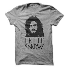 Let It Snow - Game of Thrones.... Omg I want this lol since my King of the North is gone