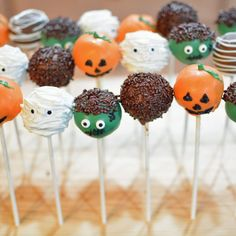 Halloween Cake Pops - Mommy's Fabulous Finds