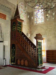 Púlpito Mezquita de Şemsi Paşa #turquia #estambul #mezquitas