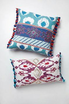 Fringed Javadi Pillow - Anthropologie.com #PinToWin #Anthropologie