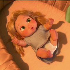 Disney Princess Pictures, Disney Princess Drawings, Disney Pictures, Disney Rapunzel, Disney Art, Cute Disney Characters, Cute Baby Wallpaper, Disney Phone Wallpaper, Cartoon Profile Pictures