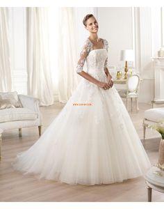 Princesse Sans bretelles Appliques Robes de mariée 2014
