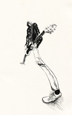 Johnny Ramone of The Ramones Punk Rock, Psychedelic Drawings, Music Artwork, Music Images, Guitar Art, Punk Art, Band Posters, Ramones, Cultura Pop