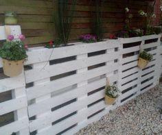 jardinière en bois de palette - LES LOISIRS D\'ANGEGABY | Pinterest ...