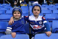 Everton v QPR -rival fans are friendly