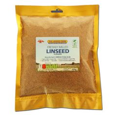 Freshly Ground Linseed Meal (500g Bag)