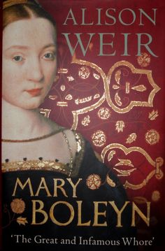 Mary Boleyn, sister to Anne Boleyn and Aunt of Queen Elizabeth the Los Tudor, Mary Boleyn, Anne Boleyn, Books To Read, My Books, Historical Fiction Books, Book Nerd, Book Recommendations, Love Book