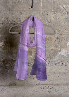 Anemone cashemere silk