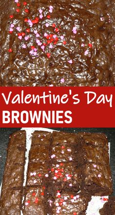 Valentines Day Brownies are the best desserts you can make for Valentines Day! These Valentines brownies are the best Valentines Day gifts too, they are perfect to give as gifts for Valentines Day! These are great ideas for Valentines Day parties too #valentines #valentinesday #desserts #brownies