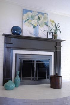 fireplace facelift the