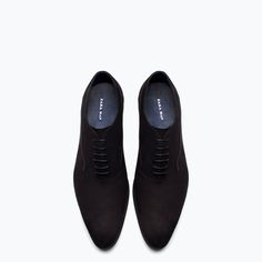 Discover the new ZARA collection online. Only Shoes, Men's Shoes, Shoe Boots, Dress Shoes, New Mens Fashion, Mens Boots Fashion, Formal Shoes, Casual Shoes, Gentleman Shoes