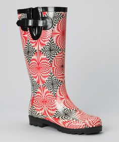 Nothing says shoes made for rain can't be fashionable. This trendy pair of boots will keep feet dry and ensembles stylish.