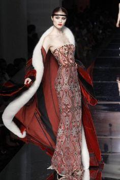 runway haute couture.