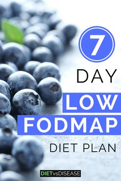 The 7-Day Low FODMAP Diet Plan For IBS is a Dietitian-made plan to help you eliminate FODMAPs from your diet- a proven trigger of IBS. #fodmaps #foodintolerance #lowfodmap Click here to view: dietvsdisease.org/low-fodmap-diet-plan-for-ibs/