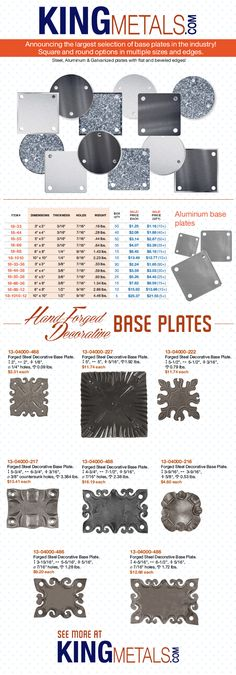 king metals catalog - master 2012 - page 229. if i can't find a