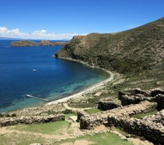 Isla del Sol on Lake Titicaca was the most beautiful place we visited in #Bolivia. Check out all of our #travel #photos in this #photo essay of this magical and peaceful place >> http://double-barrelledtravel.com/photo-essay-isla-del-sol-bolivia/