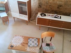 Joli cadre pour Passé Actuel mobilier vintage revisité