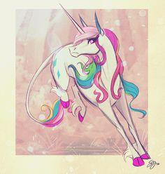 Rainbow unicorn!!