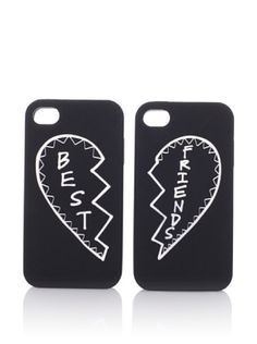 49% OFF Rebecca Minkoff Best Friends iPhone 4 Cases (Black)