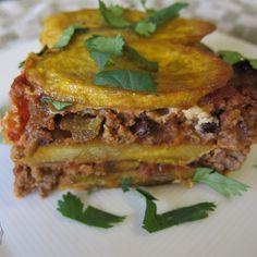 Plantain Lasagne haha, shut up this looks soooo good and simple!