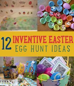 12 Inventive Easter Egg Hunt Ideas