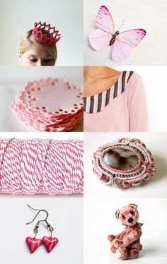 Pink Queen  by Urtė and Simona on Etsy--Pinned with TreasuryPin.com