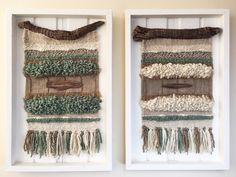 Made in Chile with natural wool, wood and driftwood from Lago Puyehue. It takes me 3 weeks to do it and three more weeks the delivery. Wool Wall Hanging, Creative Textiles, Textile Fiber Art, Tapestry Weaving, Lana, Diy And Crafts, Burlap, Crafty, Etsy