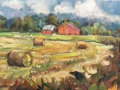 Jason Abbott Artworks Gallery Oil Paintings, Barns, Gallery, Artworks, Roof Rack, Barn, Oil On Canvas, Shed, Art Pieces