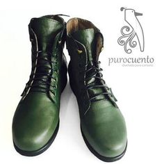 Combat Boots, Collection, Shoes, Fashion, 7 Dwarfs, Female Dwarf, Leather, Over Knee Socks, Moda